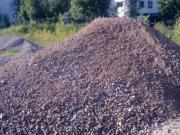 Bauschutt Recycling Schotter,