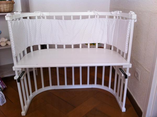 babybay beistellbett original wei lackiert nestchen. Black Bedroom Furniture Sets. Home Design Ideas