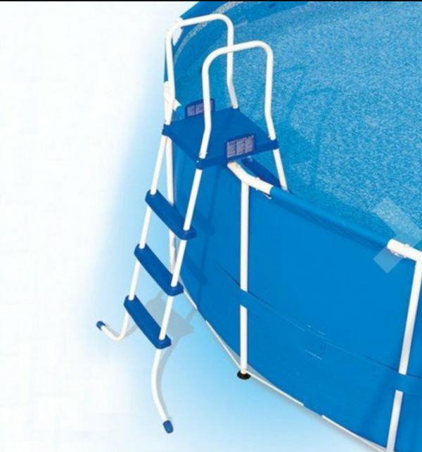 Schwimmbecken neu und gebraucht kaufen bei for Poolleiter bei obi