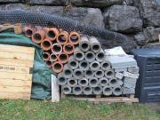 Beton-Zementrohre für