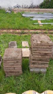 Betonplatten /Terrassenplatten zu