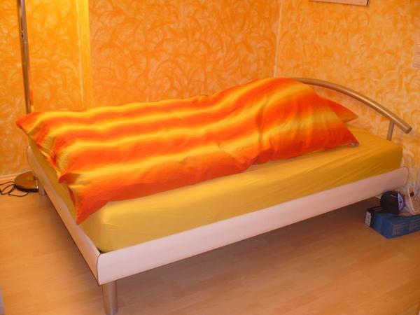bettgestell ohne lattenrost und matratze in olching. Black Bedroom Furniture Sets. Home Design Ideas