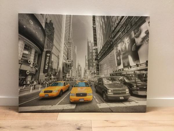 new york leinwand gebraucht kaufen 4 st bis 75 g nstiger. Black Bedroom Furniture Sets. Home Design Ideas