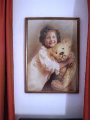 Bild mit Teddy