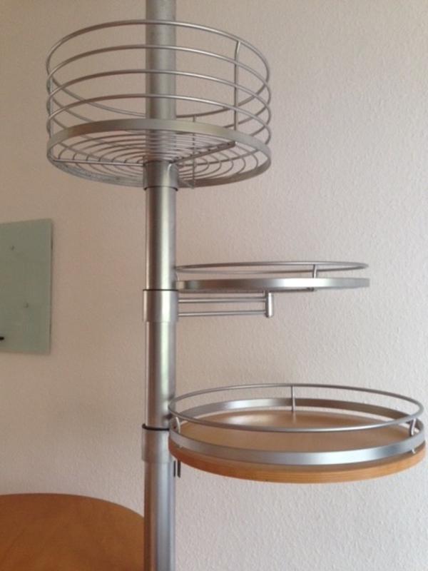 bistro stehtisch mit ablagen in ruppertshofen. Black Bedroom Furniture Sets. Home Design Ideas