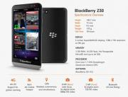 BlackBerry Z30 - Schwarz (