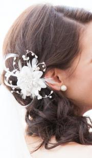 Blüte Haarschmuck Braut