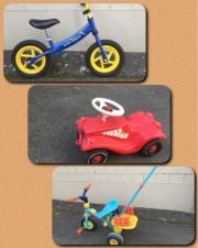 Bobby Car + Laufrad +