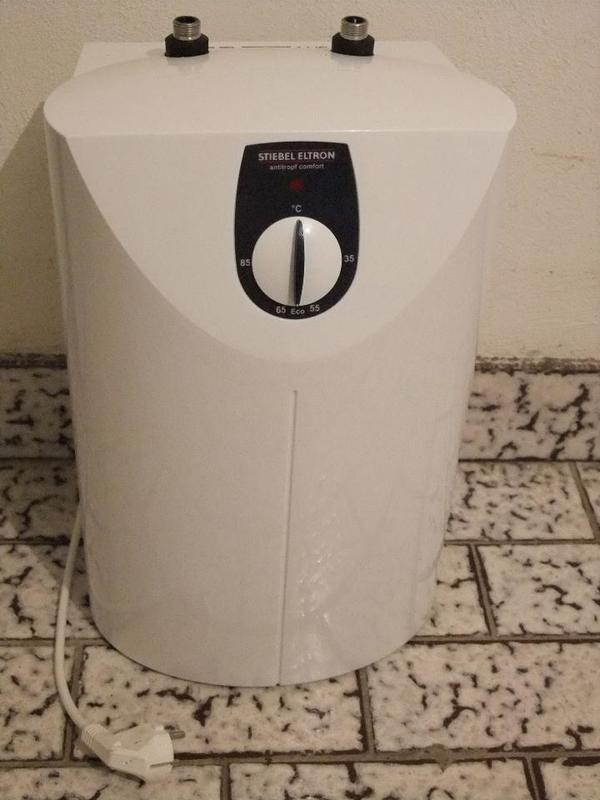 boiler warmwasserspeicher kleinspeicher stiebel eltron snu5sl 5 liter in hockenheim. Black Bedroom Furniture Sets. Home Design Ideas