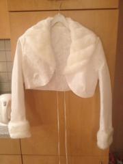 Bolero-Jäckchen für die Braut im Winter Verkaufe ein Bolero-Jäckchen, das wie neu ist. Ich habe es nur ganz kurz an meiner Hochzeit getragen. Das Material ist 100% Polyester und die Farbe ... 50,- D-04155Leipzig Gohlis-Süd Heute, 08:37 Uhr, Leipzig Gohlis - Bolero-Jäckchen für die Braut im Winter Verkaufe ein Bolero-Jäckchen, das wie neu ist. Ich habe es nur ganz kurz an meiner Hochzeit getragen. Das Material ist 100% Polyester und die Farbe