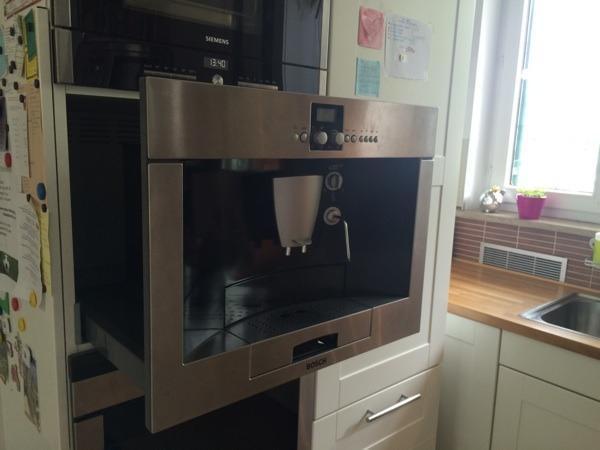 bosch einbau kaffeevollautomat in kirchheim kaffee espressomaschinen kaufen und verkaufen. Black Bedroom Furniture Sets. Home Design Ideas
