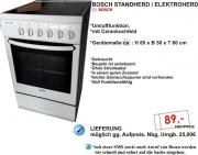 Bosch Stand-Elektroherd,