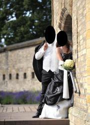 Brautkleid wunderschön schwarz