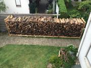 Brennholz Stapel 6,