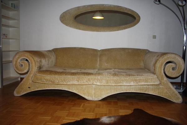 bretz mammut riesensofa g160 beige cord in d sseldorf designerm bel klassiker kaufen und. Black Bedroom Furniture Sets. Home Design Ideas