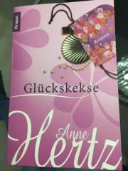 Gebraucht, Buch Glückskekse Anne Hertz gebraucht kaufen  Köngen