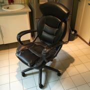Büro Sessel Echtleder