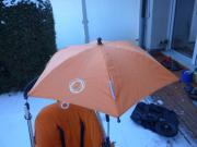 Bugaboo Sonnenschirm orange