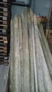 ca. 25 Holzpfosten