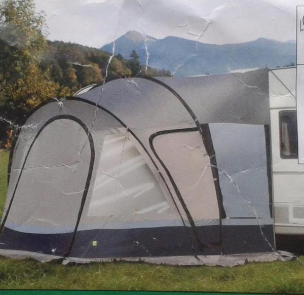 campistar reisevorzelt f r wohnwagen in landsberg kaufen. Black Bedroom Furniture Sets. Home Design Ideas