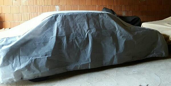 car cover abdeckplane vollgarage f r pkw limousine in unterschlei heim sonstiges zubeh r. Black Bedroom Furniture Sets. Home Design Ideas
