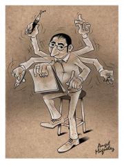 Cartoonist sucht ein