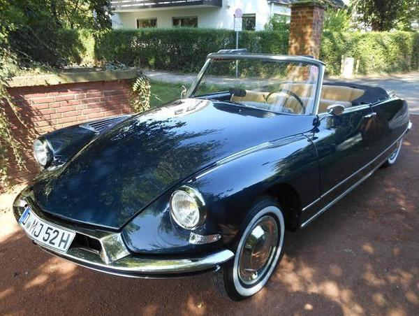 voiture citroen ds 19 cabriolet h zulassung gutachten note 2 occasion de 1962 pour 47500. Black Bedroom Furniture Sets. Home Design Ideas