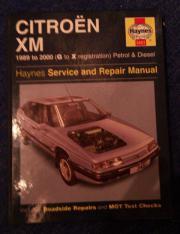 Citroen XM Reparaturanleitung