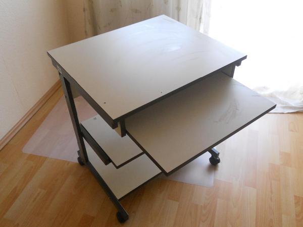 computertisch rollen neu und gebraucht kaufen bei. Black Bedroom Furniture Sets. Home Design Ideas