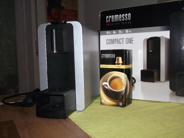 cremesso kapsel kaffeemaschine abzugeben in schifferstadt. Black Bedroom Furniture Sets. Home Design Ideas