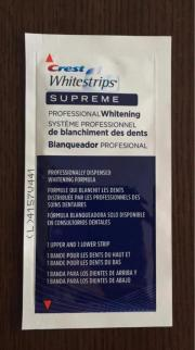 CREST Whitestrips Supreme (