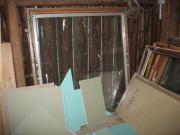 Dachfenster und Balkontür