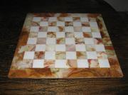 Dekoratives Schachspiel aus