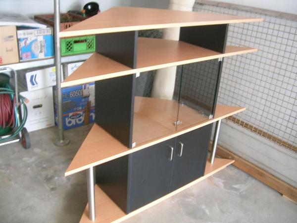 der hingucker eckschrank blickfang in dettenheim regale kaufen und verkaufen ber. Black Bedroom Furniture Sets. Home Design Ideas