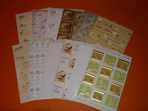 Design karton hochzeit gl ckw nsche in gold rosen herz for Karton design