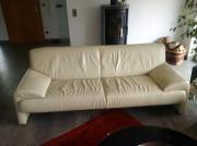 Designer Leder-Couch