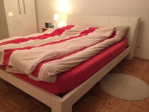 designer lederbett von who s perfect 1 60 x liegefl che in m nchen betten kaufen und. Black Bedroom Furniture Sets. Home Design Ideas