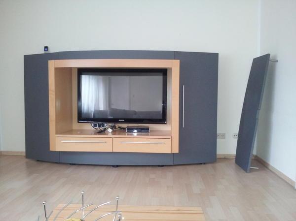 Designer Wohnwand, TV - Schrank, ein echter Hingucker in jedem ...