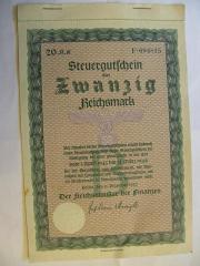 Deutsches Reich 20