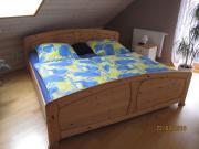 Doppelbett 2x2m Kiefer
