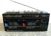 Doppelcassetten - Radio - Bastlergerät