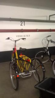 Dreirad mit Anhänger