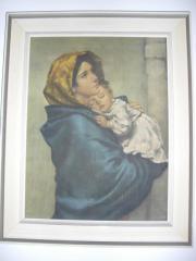 madonna mit kind auf sockel in frankfurt kunst gem lde plastik kaufen und verkaufen ber. Black Bedroom Furniture Sets. Home Design Ideas