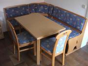 Eckbank - Tisch- Stühle