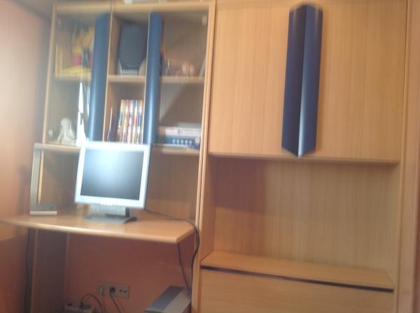 Schrankwand betten neu und gebraucht kaufen bei for Jugendzimmer schrankwand