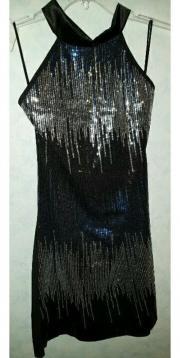 Elegantes Glitzer Kleid