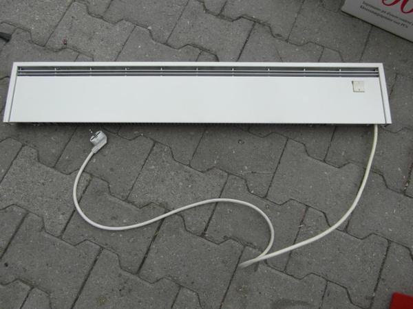 elektrische wandheizung siemens 600w mit stecker in landshut elektro heizungen. Black Bedroom Furniture Sets. Home Design Ideas