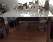 Esstisch Tisch Glastisch (