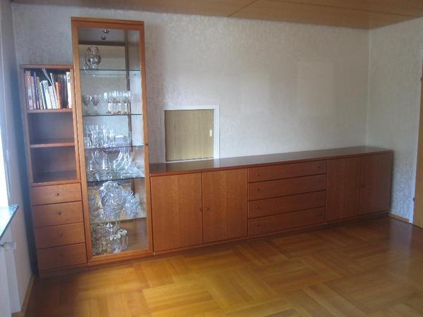 top esszimmerm bel zu verkaufen kirschbaum hersteller h lsta 1 sidebord teilweise verglast. Black Bedroom Furniture Sets. Home Design Ideas