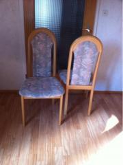 Esszimmerstühle 6Stück neuwertig!